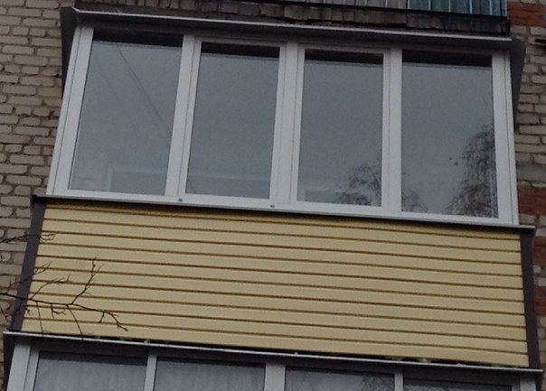 Разновидность балконных рам. - дизайн маленьких лоджий - кат.