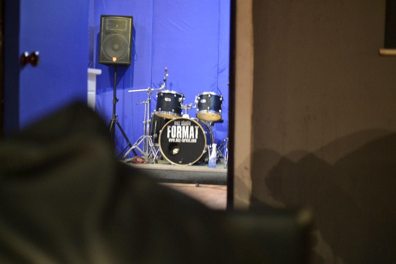 Обновлённая репетиционная база в Спб